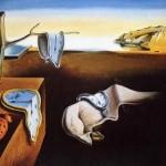 """Fragmento del cuadro """"La persistencia de la memoria"""" de Salvador Dalí"""