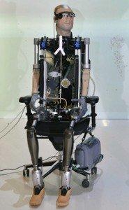 Rex, un prototipo expuesto en el Museo de Ciencias de Londres. Reuters