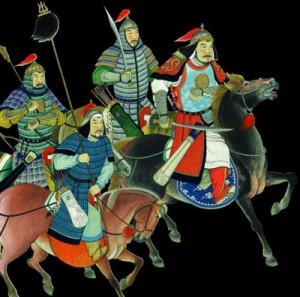 El guerrero pueblo mongol se extendió por Asia y parte de Europa entre los siglos XII y XIII.