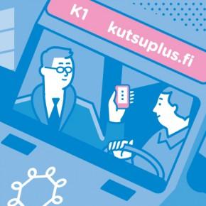 Kutsuplus: sistema de transporte en Helsinki que define las mejores rutas según la demanda