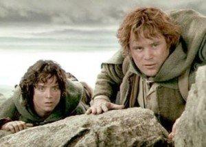 Sam y Frodo: bromance en la Tierra Media