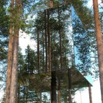 The Mirrorcube del Treehotel de Harads