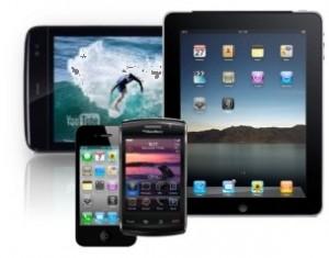 Uso de la tablet creció 41,9% Vs smartphones 9,7%
