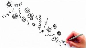 Los garabatos pueden influir en la forma en que procesamos información y solucionamos problemas