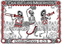 El Día de Muertos es una celebración mexicana de origen prehispánico que honra a los difuntos el 2 de noviembre, comienza el 1 de noviembre