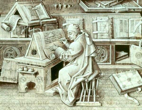 El movimiento de traducción de los textos griegos marca el fortalecimiento de la intelectualidad europea.