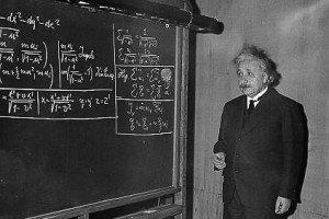 Albert Einstein: Mi principal defecto era una mala memoria, especialmente para las palabras y los textos.