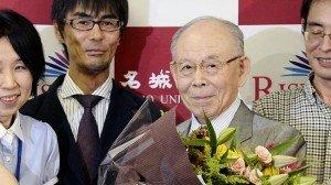 """Isamu Akasaki: """"mucha gente abandonó, pero yo seguí trabajando en lo que creo""""."""