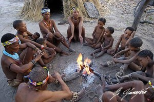 Historias contadas a la luz del fuego ayudaron a construir la identidad social