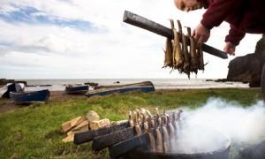 Alimentos ahumados en auge. Foto: Murdo Macleod para The Guardian