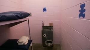 Algunas cárceles tienen celdas rosas para reducir la agresividad de los presos.