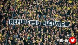 Solidaridad en la grada: el fútbol alemán da la bienvenida a los refugiados sirios