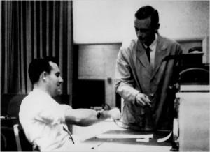 El experimento de Milgram en los años 60 sobre comportamiento humano
