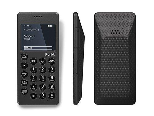 El MP 01,diseñado por Jasper Morrison, no incluye conexión a Internet, sólo sirve para realizar y recibir llamadas y mensajes de texto.